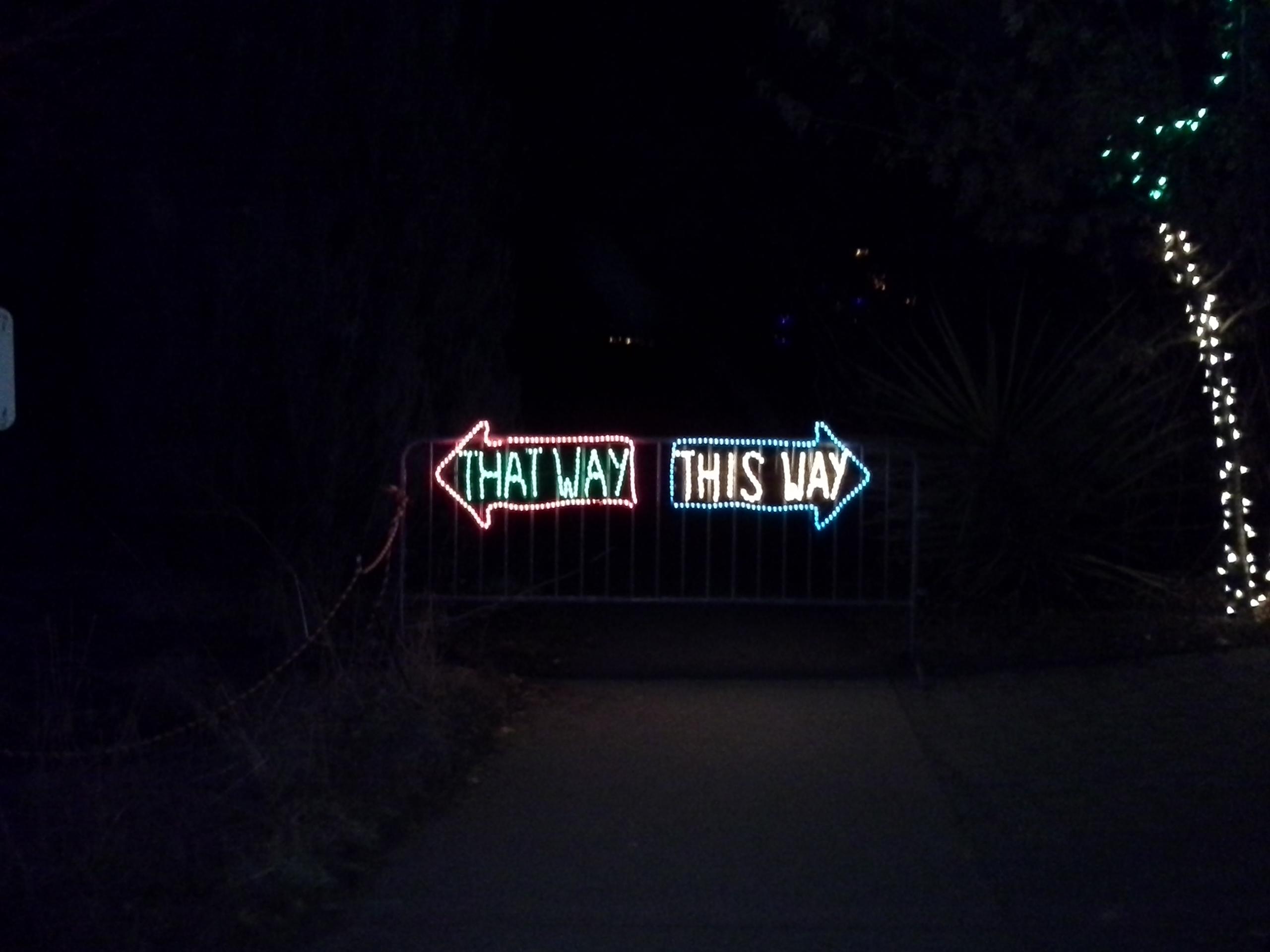 This Way / That Way