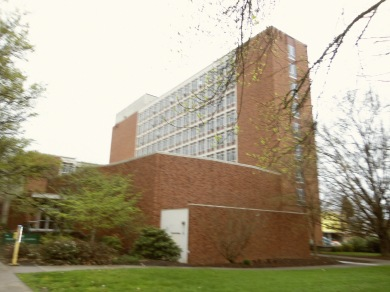PLC Hall (where the English Dept. is located)
